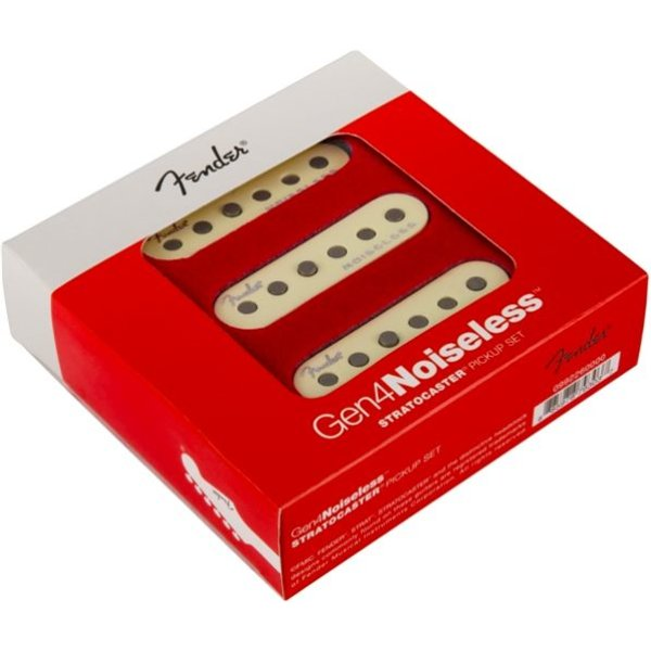 Fender Gen 4 Noiseless Stratocaster Pickups, Set of 3