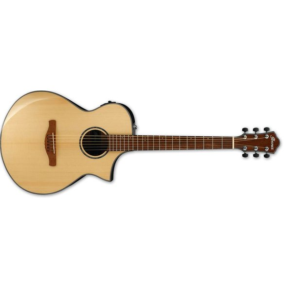Ibanez Ibanez AEWC 6Str Acoustic/Electric Guitar - Natural High Gloss