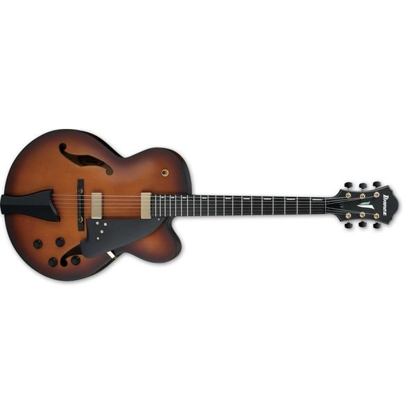 Ibanez Ibanez AFC Contemporary Archtop 6str Electric Guitar - Violin Matte