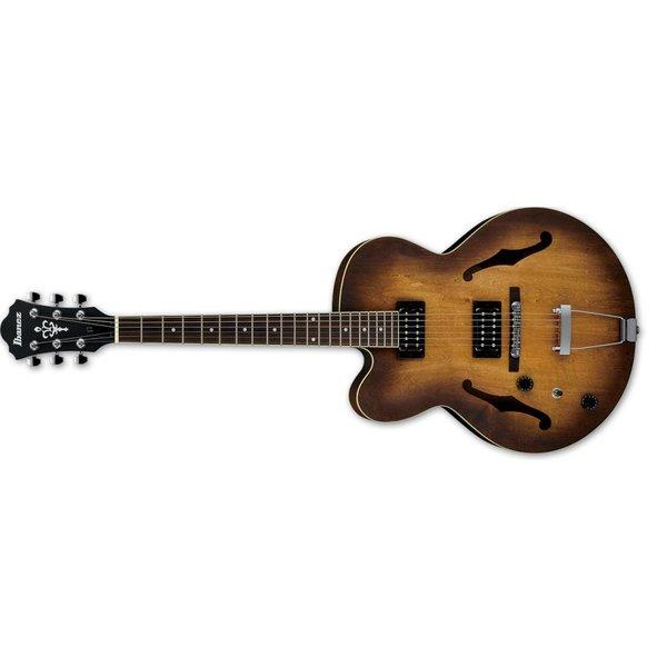 Ibanez Ibanez AF Artcore 6str Electric Guitar  - Left handed - Tobacco Flat