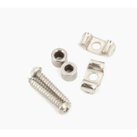 Vintage-Style Stratocaster String Guides (2) (Chrome)