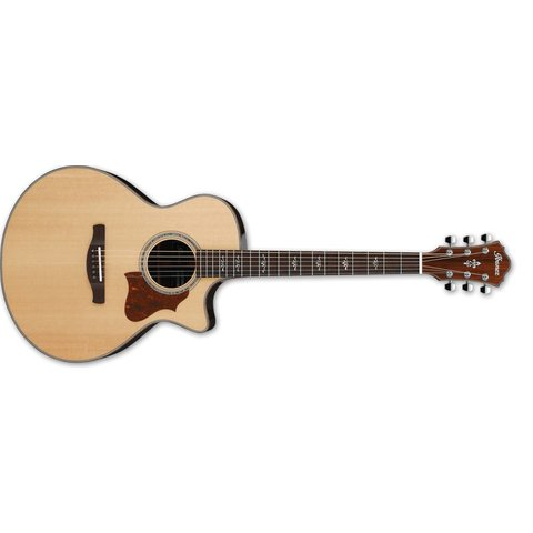 Ibanez AE 6Str Acoustic/Electric Guitar w/Hardshell case - Natural High Gloss