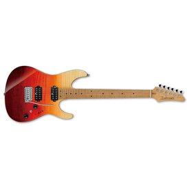 Ibanez Ibanez AZ Premium 6str Electric Guitar w/Case - Tequila Sunrise Gradation