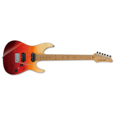 Ibanez AZ Premium 6str Electric Guitar w/Case - Tequila Sunrise Gradation