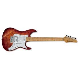 Ibanez Ibanez AZ Premium 6str Electric Guitar w/Case - Brown Topaz Burst