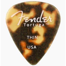 Fender Fender Tortuga 351 Thin Picks, 6 Pack