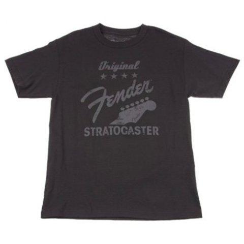 Fender Original Strat T-Shirt, Charcoal, S