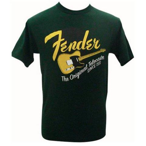 Fender Original Tele T-Shirt, Green, XXL