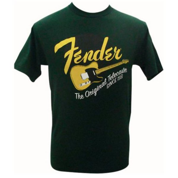 Fender Fender Original Tele T-Shirt, Green, XL