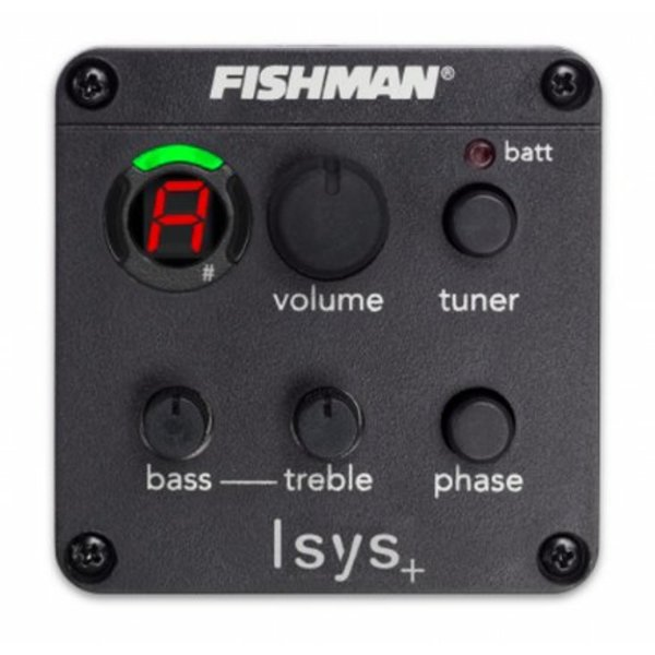 Fender Battery Box Jack, Fishman Isys Preamp