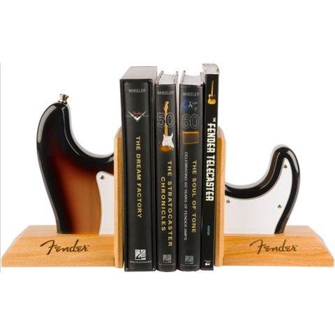 Fender Strat Body Bookends, Sunburst