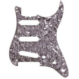Fender Pickguard, Stratocaster S/S/S, 11-Hole Mount, Black Pearl, 4-Ply