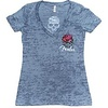 Fender Ladies Skull Roses T-Shirt