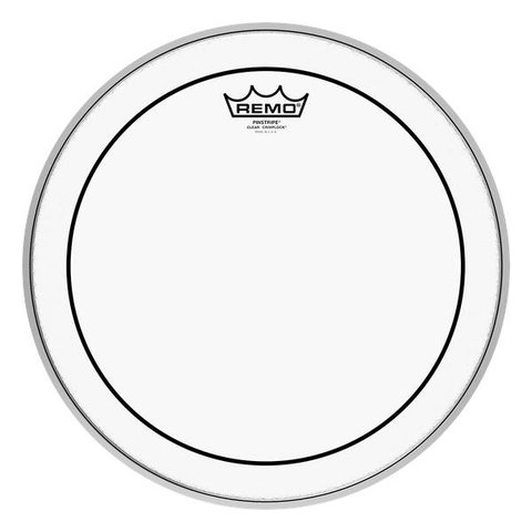 Remo 12'' Pinstripe Clear Crimplock Marching Tenor Drum Head