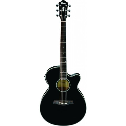 Ibanez AEG10IIBK AE Acoustic Electric Guitar Black