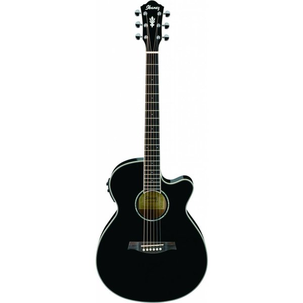 Ibanez Ibanez AEG10IIBK AE Acoustic Electric Guitar Black