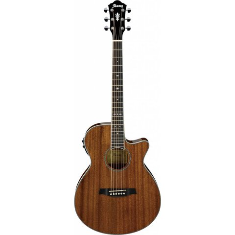 Ibanez AEG12IINT AE Acoustic Electric Guitar Natural