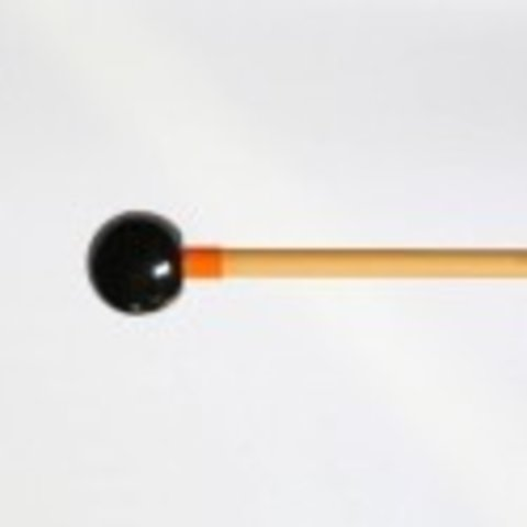Dragonfly Percussion 1'' Black Rattan Bell Mallets