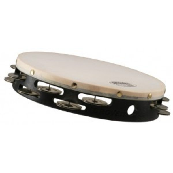 Grover Pro Percussion Grover Pro Percussion 10'' Double Row German Silver Tambourine