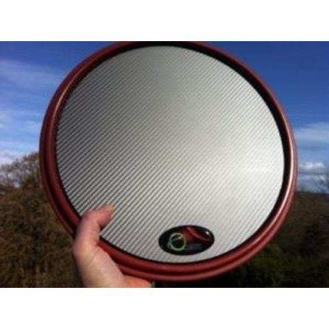 Offworld Percussion Invader V3 Practice Pad, Red Rim, GM