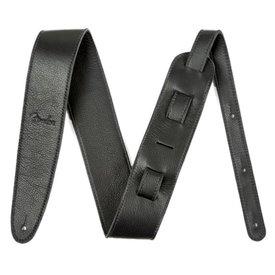 Fender Artisan Crafted Leather Strap, 2.5'' Black