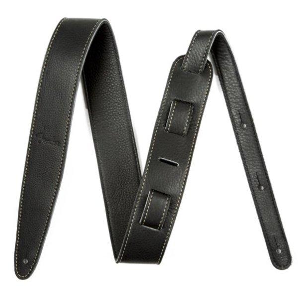 Fender Artisan Crafted Leather Strap, 2'' Black