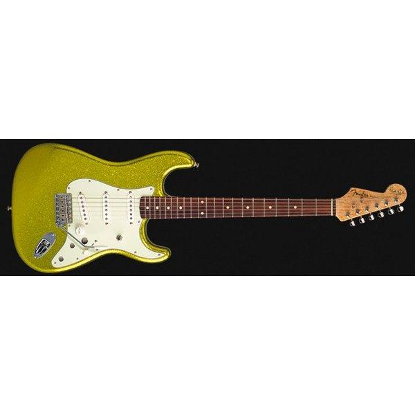 Fender Custom Shop Dick Dale Signature Stratocaster, Rosewood Fingerboard, Chartreuse Sparkle