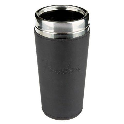 Fender Blackout Travel Mug, Black, 16 oz.