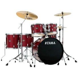 TAMA TAMA Imperialstar 6pc Complete Kit w/ MEINL HCS Cymbals Candy Apple Mist
