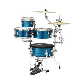 TAMA TAMA Cocktail-JAM Mini 4-piece shell pack w/ hardware Hairline Blue