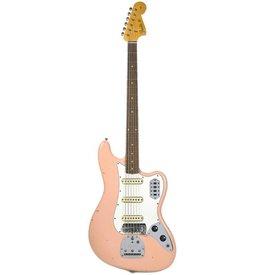 Fender Custom Shop 60s Journeyman Relic Bass VI, Aged Shell Pink