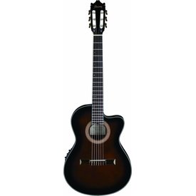 Ibanez Ibanez GA35TCEDVS CL Classical Electric Acoustic Cutaway Dark Violin Sunburst