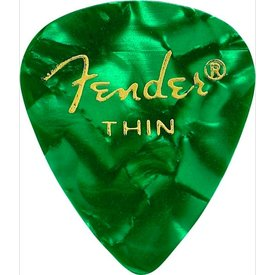 Fender Fender 351 Thin Green Moto Picks 12 pk