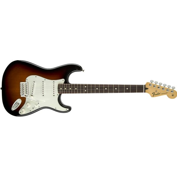 Fender Standard Stratocaster, Pau Ferro Fingerboard, Brown Sunburst