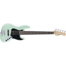 Fender Deluxe Active Jazz Bass V, Pau Ferro Fingerboard, Surf Pearl