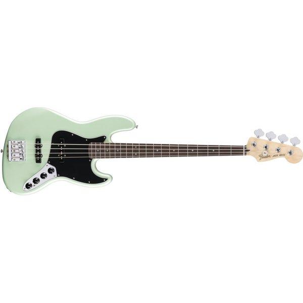 Fender Deluxe Active Jazz Bass, Pau Ferro Fingerboard, Surf Pearl