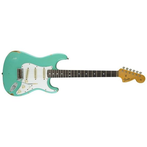 Fender Custom Shop 1967 Heavy Relic Stratocaster, Rosewood Fingerboard, Sea Foam Green