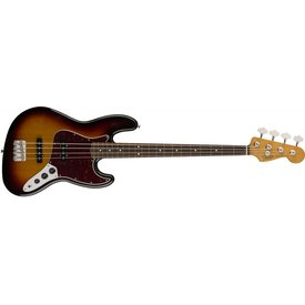 Fender 60s Jazz Bass, Pau Ferro Fingerboard, 3-Color Sunburst