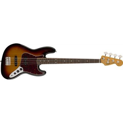 60s Jazz Bass, Pau Ferro Fingerboard, 3-Color Sunburst