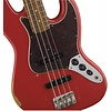 Road Worn '60s Jazz Bass, Pau Ferro Fingerboard, Fiesta Red