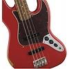Road Worn '60s Jazz Bass, Pau Ferro Fingerboard, Fiesta Red