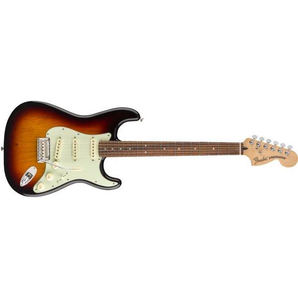 Fender Deluxe Roadhouse Stratocaster, Pau Ferro Fingerboard, 3-Color Sunburst