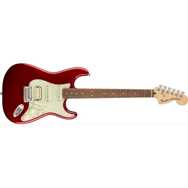Fender Deluxe Stratocaster HSS, Pau Ferro Fingerboard, Candy Apple Red