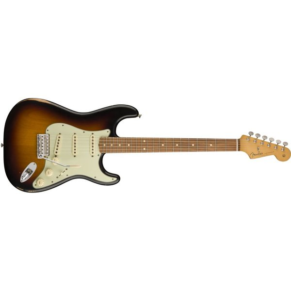 Fender Road Worn '60s Stratocaster, Pau Ferro Fingerboard, 3-Color Sunburst