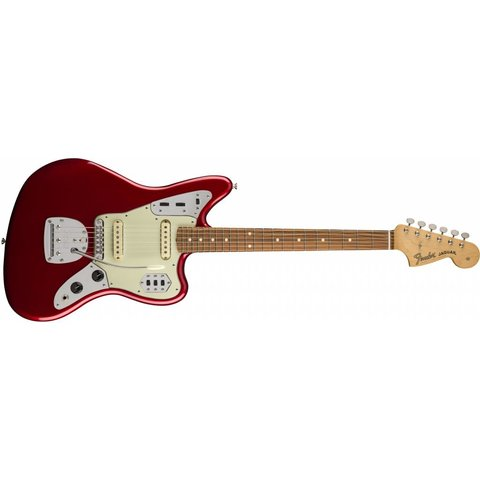 Classic Player Jaguar Special, Pau Ferro Fingerboard, Candy Apple Red