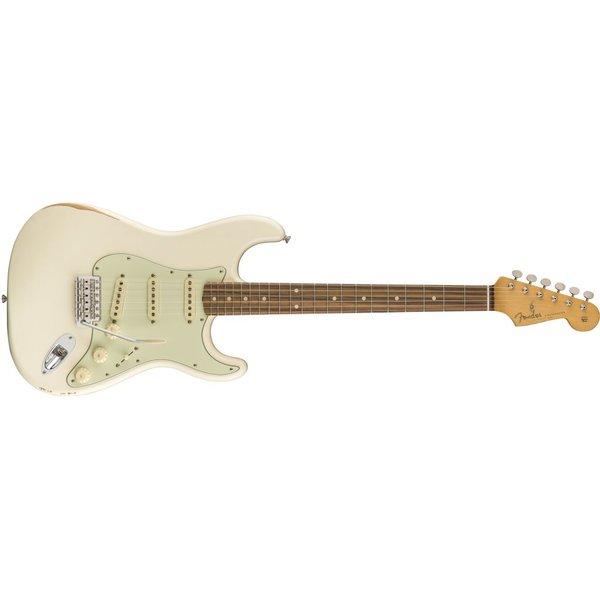 Fender Road Worn '60s Stratocaster, Pau Ferro Fingerboard, Olympic White