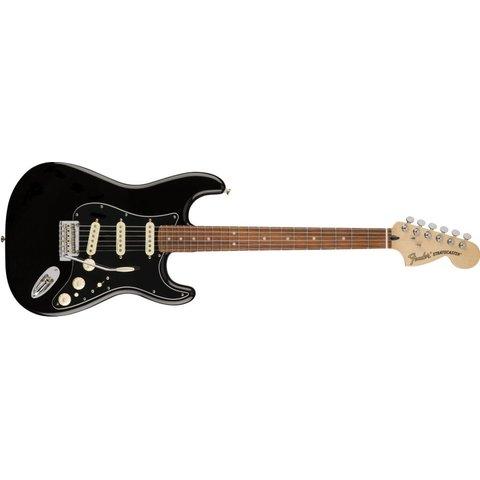 Deluxe Stratocaster, Pau Ferro Fingerboard, Black