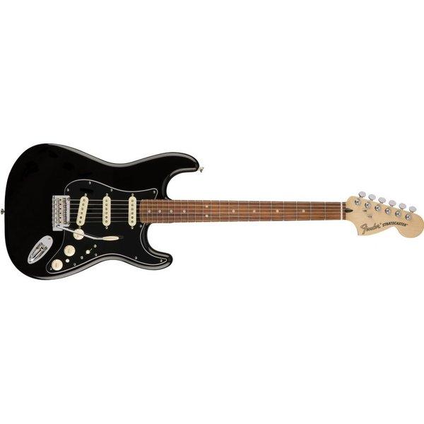 Fender Deluxe Stratocaster, Pau Ferro Fingerboard, Black