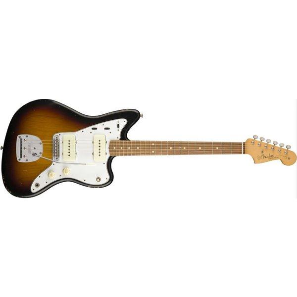 Fender Road Worn '60s Jazzmaster, Pau Ferro Fingerboard, 3-Color Sunburst
