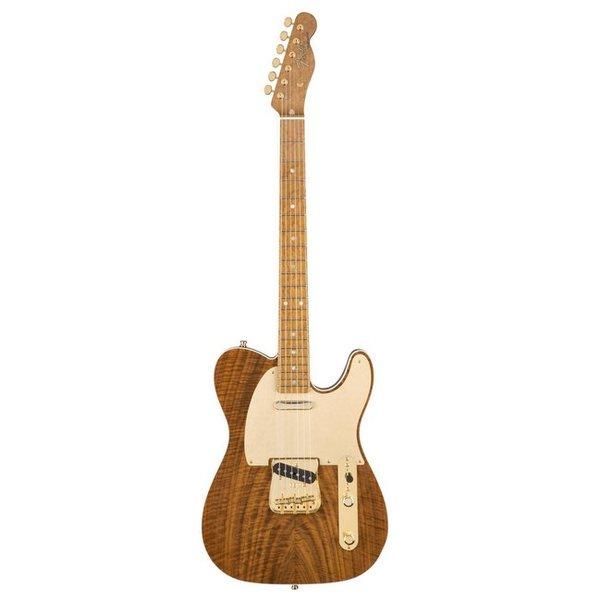 Fender Custom Shop Claro Walnut Artisan Telecaster, Roasted Maple Fingerboard, Natural